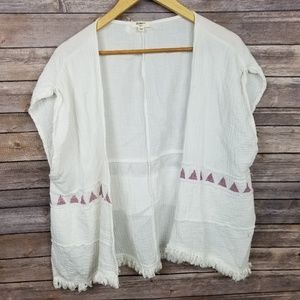 Dylan True Grit Cotton Gauze Kimono Coverup Small